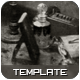 Antique Photoshop Template