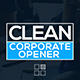 Clean Corporate Opener - VideoHive Item for Sale