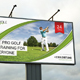 Golf Event Outdoor Banner 05