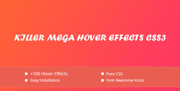 Killer -  Hover Effects - CodeCanyon Item for Sale