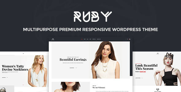 Ruby – Fashion Responsive WordPress Theme