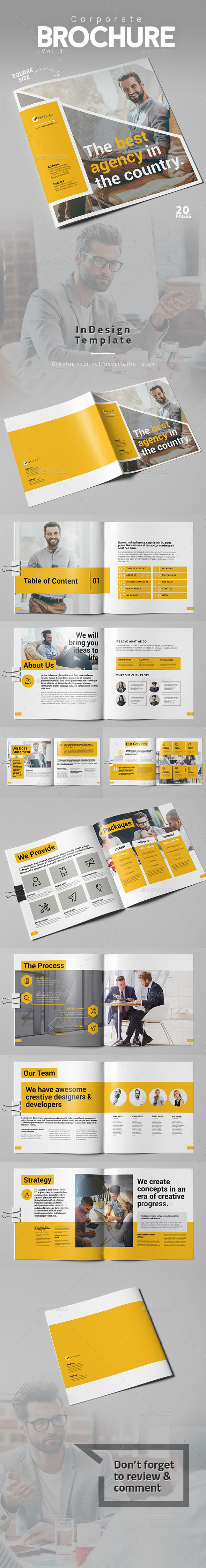 Corporate Brochure Vol.3 - Square - Corporate Brochures