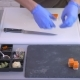 - the Cook Put a Small Pieces of Sushi on a Black Square Plate - VideoHive Item for Sale