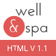 well&spa- Responsive Spa/Beauty Landing Page Template - ThemeForest Item for Sale