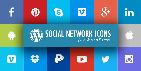 WordPress Social Network Icons Plugin with Layout Builder - CodeCanyon Item for Sale