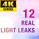 Light Leaks 4K Pack - VideoHive Item for Sale