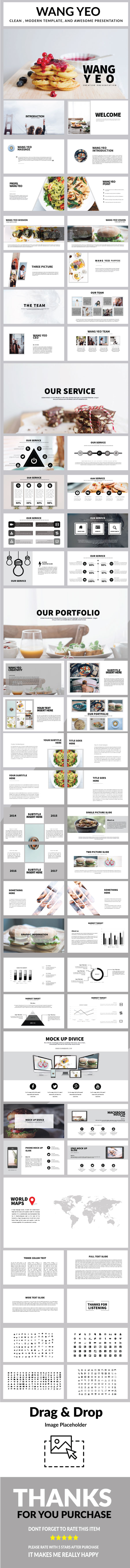 Wang yeo Multipurpose Powerpoint - PowerPoint Templates Presentation Templates