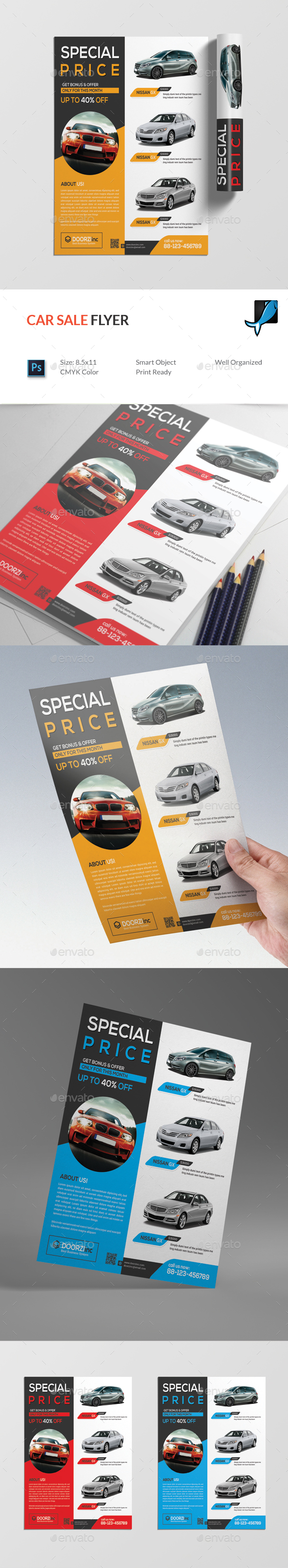Car Sale Flyer - Commerce Flyers