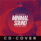 Minimal Sound V.2 - Cd Artwork - GraphicRiver Item for Sale