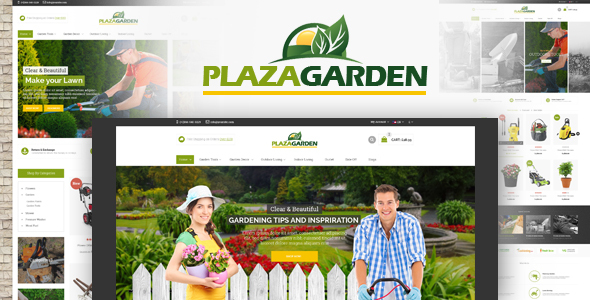 PlazaGarden – Responsive Magento Theme
