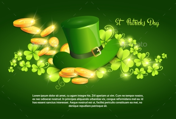 Happy Patrick Day Festival Beer Holiday Poster - Flowers & Plants Nature