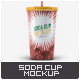 Soda Cup Mock-Up - GraphicRiver Item for Sale