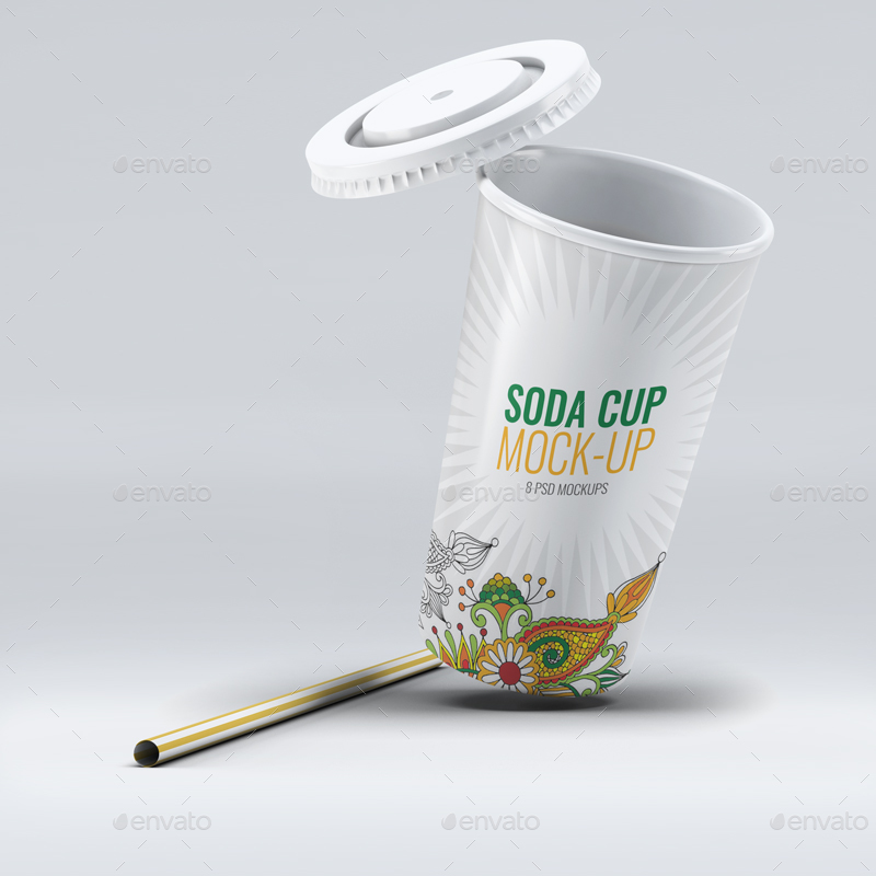 Soda Cup Mock Up By L5design Graphicriver
