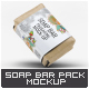 Soap Bar Paper Sleeve Mock-Up - GraphicRiver Item for Sale