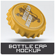 Bottle Cap Mock-Up - GraphicRiver Item for Sale