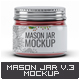 Mason Jar Mock-Up V.3 - GraphicRiver Item for Sale