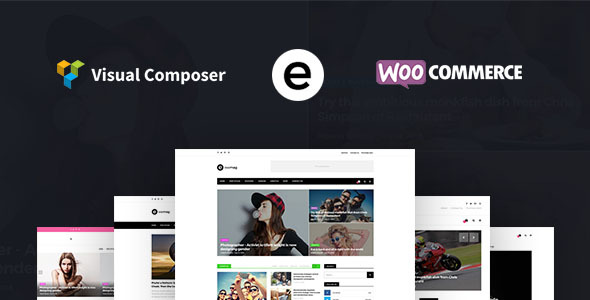 Exemag – Multiconcept Blog & Magazine WordPress Theme