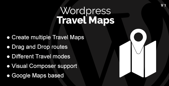 WordPress Travel Maps - CodeCanyon Item for Sale