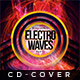 Electro Waves - Cd Artwork - GraphicRiver Item for Sale