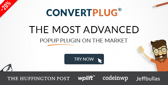 Popup Plugin For WordPress - ConvertPlug - CodeCanyon Item for Sale