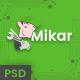 Mikar - Repair Shop PSD Template - ThemeForest Item for Sale
