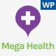 Medical WordPress Theme For Health Care Center - Mega Health Nulled