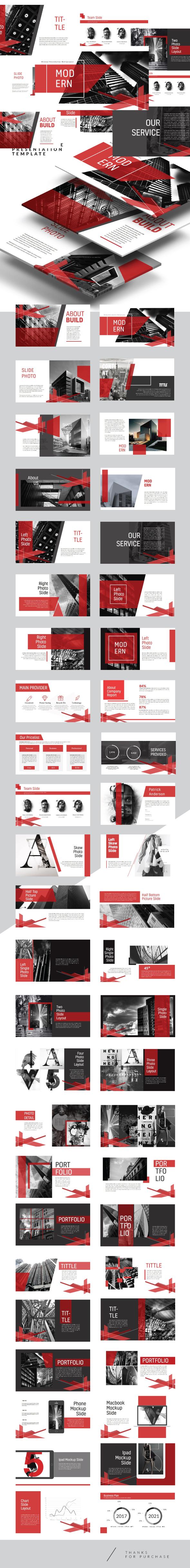 Arch - Creative Multipurpose Keynote Template - Creative Keynote Templates