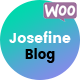 Josefine - Blog and WooCommerce WordPress theme Nulled