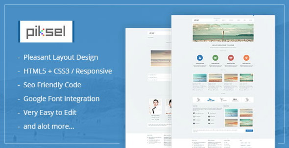 Piksel -  Creative and Portfolio WordPress Theme - WordPress