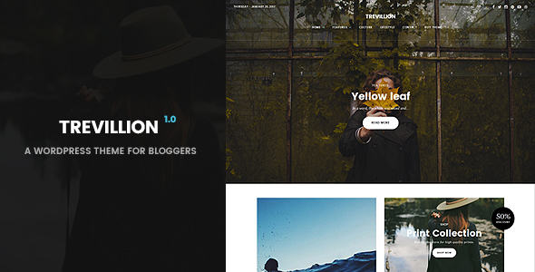 Trevillion – WordPress Blog Theme
