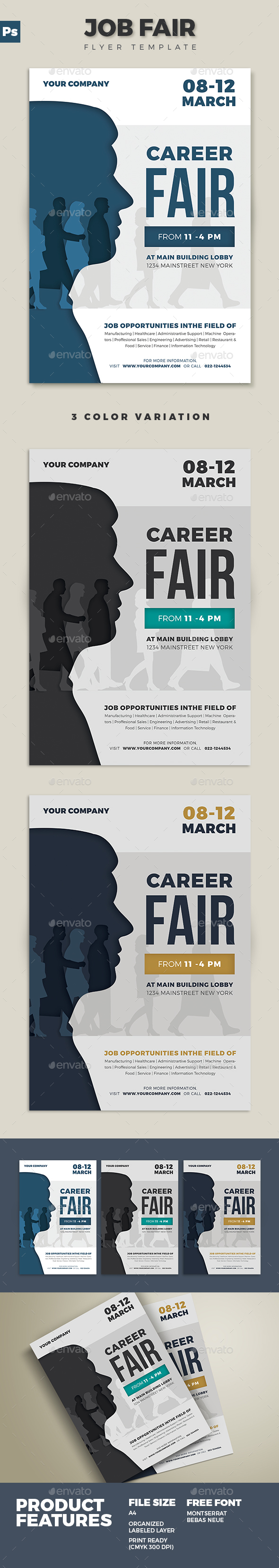 Job Fair Flyer 02 - Corporate Flyers
