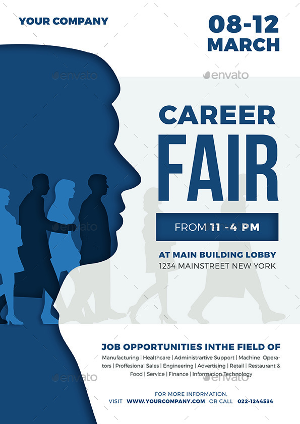 job fair flyer 02 by vynetta graphicriver