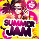 Summer Jam Flyer Template - GraphicRiver Item for Sale
