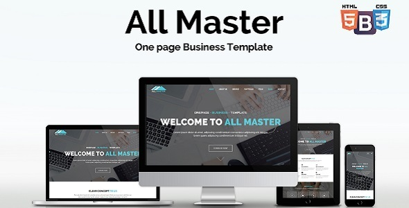 All Master Business HTML Template - Business Corporate