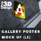 Gallery Poster Mockup (Limited Edition) - GraphicRiver Item for Sale