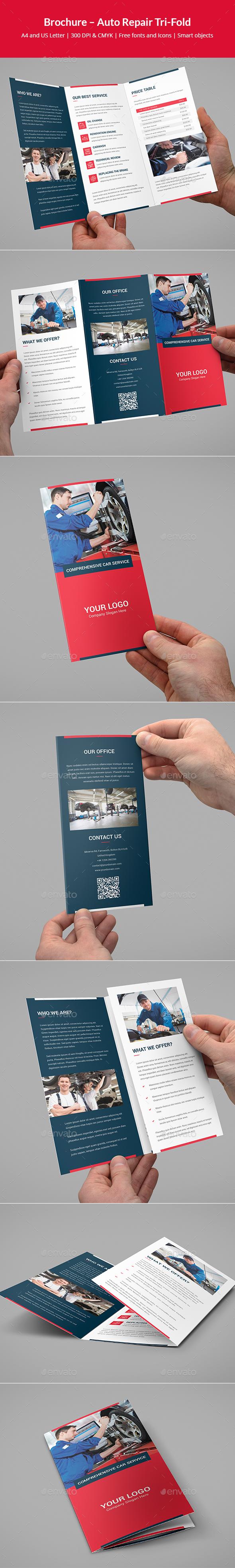 Brochure – Auto Repair Tri-Fold - Corporate Brochures