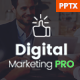 The Digital Marketing Pro - Powerpoint Template - GraphicRiver Item for Sale