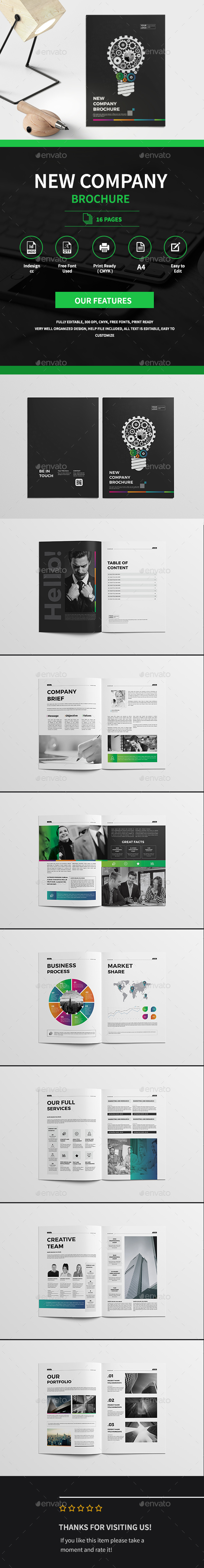 Business Innovation Brochure - Corporate Brochures