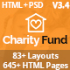 CharityFund - Nonprofit, Fundraising, Charity & Crowdfunding Responsive HTML5 Template