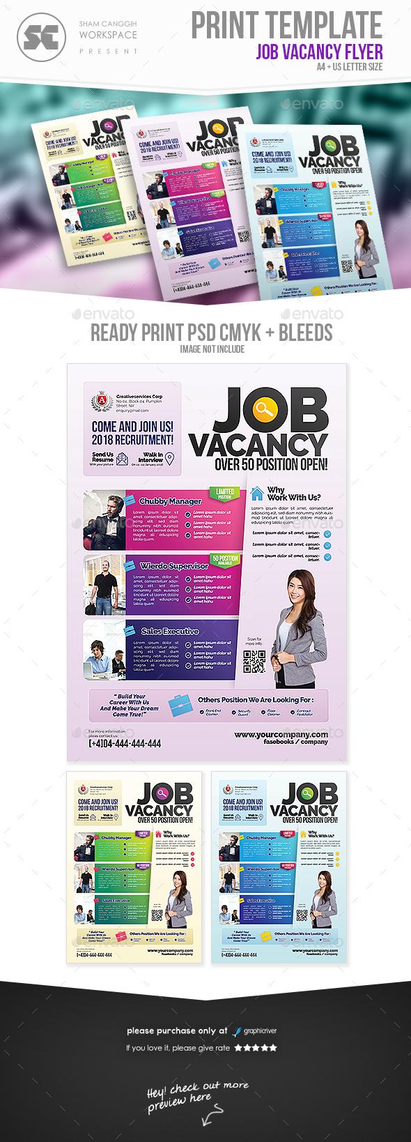 Job Fair Flyer - Miscellaneous Events