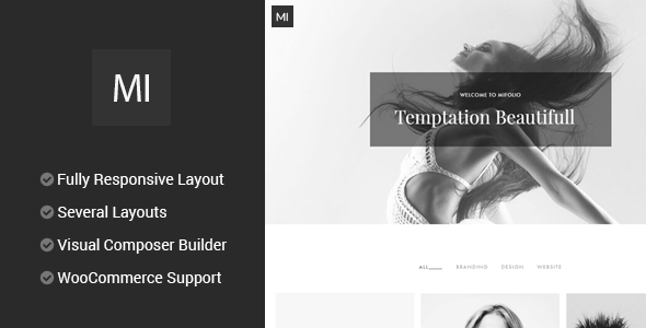 MiFolio - Creative Multi-Purpose Portfolio Theme