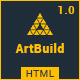 ARTBUILD | Construction & Building HTML Template Nulled