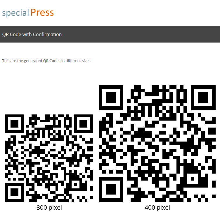 Gravity Forms QR Code by naranili | CodeCanyon