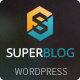 Super Blog - WooCommerce Responsive WordPress Theme - ThemeForest Item for Sale
