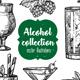 Alcohol Vintage Illustration - GraphicRiver Item for Sale