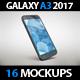 SmartPhone Galaxy A3 2017 App & Skin MockUp