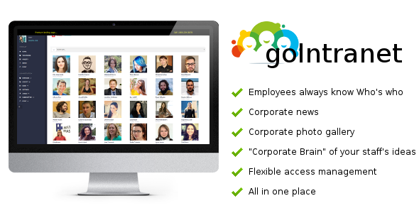 goIntranet v1.14 - Organize your Office Employees