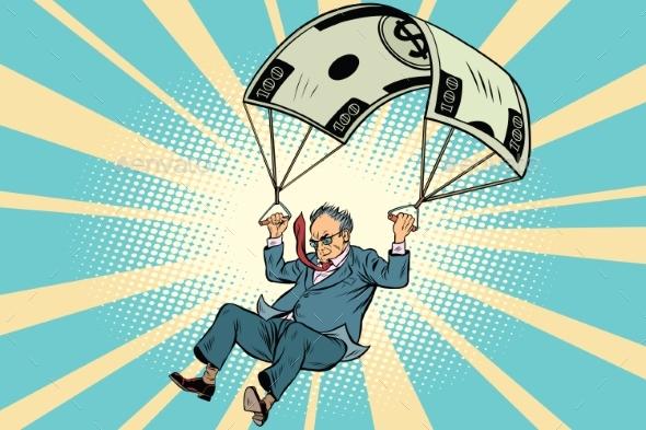 Retired Golden Parachute Financial Compensation - Concepts Business