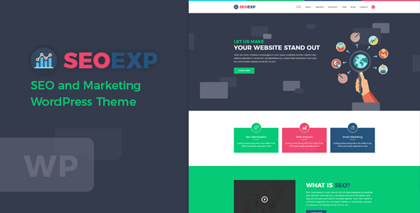 Seoexp – Marketing & SEO WordPress Theme