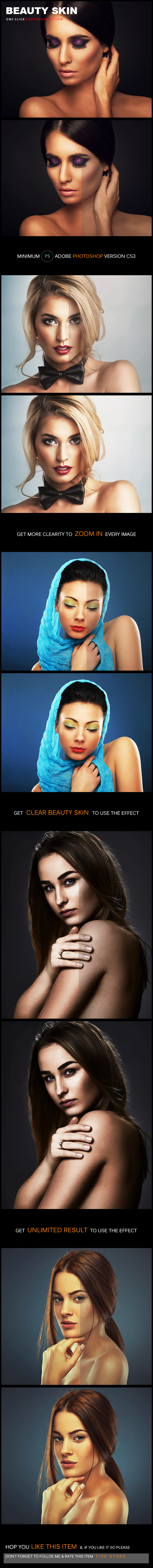 Beauty Skin - Photo Effects Actions